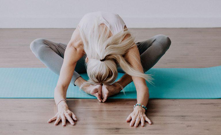 Yin joga položaj